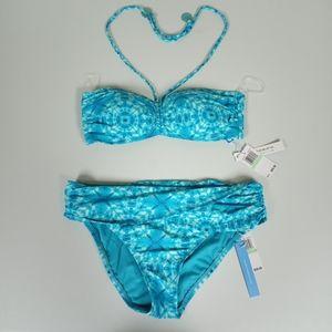 Bleu Rod Beattie Blue 2 Piece Swimsuit 🩱
